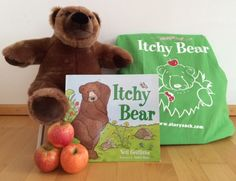 Win an Itchy Bear story sack on Story Snug! Complete with a gorgeous plush Itchy Bear, hand puppets, finger puppets and information for parents and teachers it would make a fantastic addition to a home or classroom library. Hand Puppets, Finger Puppets, Story Sack, Chapter Books, Children's Literature, Activity Ideas, Autumn, Fall, Character Illustration