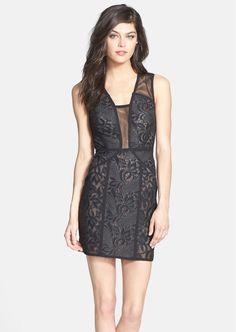 1e9850d2fe Black Lace Cocktail Dress Bcbg - Holiday Dresses