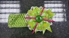 Binchita Verde con Rosado