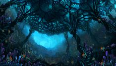 Underwater by Kiarya.deviantart.com on @DeviantArt