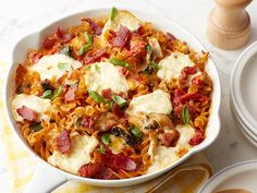 Kids would like this - BLT Pasta Skillet Recipe : Food Network Kitchens : Food Network - FoodNetwork.com