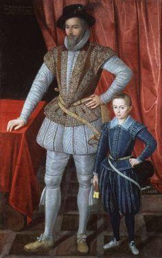 Sir Walter Ralegh, 1602 (Unknown Artist) National Portrait Gallery, London,  NPG 3914