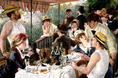 Pierre Auguste Renoir - Le déjeuner des canotiers (La colazione dei canottieri)