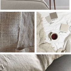 """Sidona's Instagram photo: """"Interior mood board 🤎 . . #moodboard #bedroomdecor #interiordecorating #airbnb #containerhome #containliving #ukvacation…"""" Air B And B, Warm Grey, Fabric Painting, Pantone, Interior Decorating, Bedroom Decor, Mood, Instagram, Painting On Fabric"""