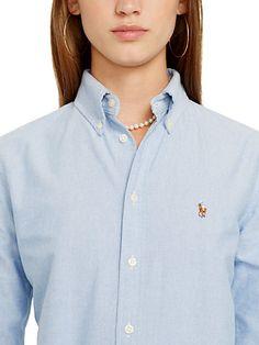 Custom-Fit Hemd aus Baumwoll-Oxford - Langarm Hemden & Blusen - Ralph Lauren Deutschland