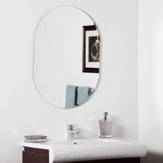 Décor Wonderland Khloe Modern Bathroom Mirror - 23.6W x 31.5H in. - SSM212