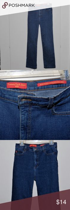 """NYDJ Not Your Daughter's Jeans Tummy Tuck Size 6 For your consideration, NYDJ Not Your Daughter's Jeans Tummy Tuck Size 6  6% Cotton  4% Spandex   These jeans have been hemmed by 1"""" Overall Length 42"""" NYDJ Jeans"""