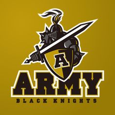Army Black Knights identity concept on Behance