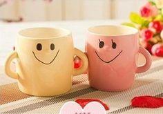 Hand in Hand Lovers Mug