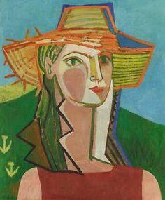 Francoise Gilot Self Portrait