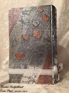 Buchcover für Hochzeitsbuch in Aluminiumdesign Monogram, Michael Kors, Pattern, Design, Bags, Handarbeit, Creative, Monogram Tote, Handbags