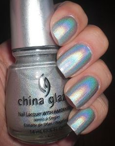 China Glaze OMG.  I lust after this polish so much.
