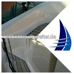 Hier noch das Cockpit der #Bavaria 36 - ebenfalls wieder frisch.  #DerBootsaufbereiter  ------------------------------------------------------------ #aufbereiten #polieren #bootsservice