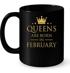 "#Queens Are Born In February T Shirts<br/>                 <div class=""innercontent"">Queens Are Born In February T Shirts 100% Cotton. Imported. Machine wash cold with like colors, dry low heat. Lightweight, Classic fit, Double-needle sleeve and bottom hem, Unisex sizing; consult size chart for details, Roomy Unisex Fit. Double needle stitching; Pouch pocket, Air jet yarn creates a smooth, low-pill surface. Ladies' fit with shorter body length and tapered sleeves Decoration type: Digital…"