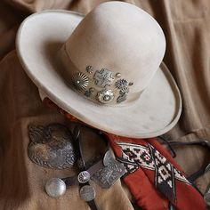 """double-d-ranch:  """" Old Pawn Hat by Double D Ranch  Les Gauchos Collection, Fall 2016 by Double D Ranch  PLEASE DO NOT REMOVE TAGS  https://www.ddranchwear.com/collections/hats/products/fa523-old-pawn-hat  """""""