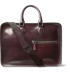 BerlutiDeux Jours Polished-Leather Briefcase