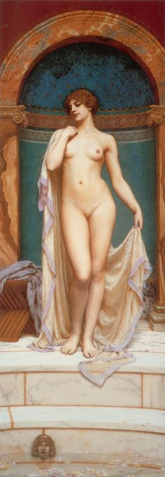Venus at the Bath, John William Godward
