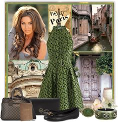 """Hello Paris!"" by defineyourstyle ❤ liked on Polyvore"