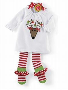 adorable first christmas outfit