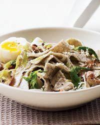 Creamy Buckwheat Pasta with Wild Mushrooms