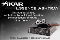 Xikar Essence Outdoor Ashtray