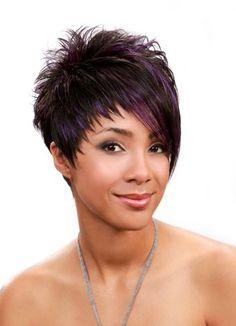 Znalezione obrazy dla zapytania short asymetrical haircuts for women
