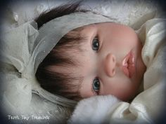 Reborn Baby Shyann by Aleina Peterson; HOLIDAY BABY LAYETTE, Low Start!