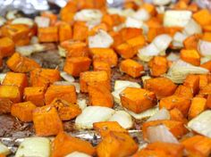Balsamic Roasted Sweet Potatoes! #thanksgiving. @Becky Revenig's  #TDAYROUNDUP entry