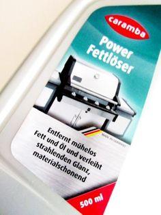 #Caramba Power Fettlöser im Produkttest, Power oder nicht Power?