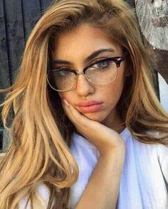 lunettes vue femme chic look sage