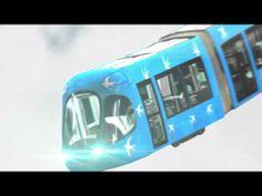 Montpellier Agglomération: les 4 lignes de tramway.