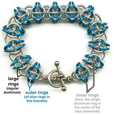DIY Jewelry Chainmaille Celtic Visions Bracelet | Blue Buddha Boutique