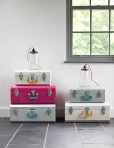 """AS MENTIONED IN THE SUNDAY TIMES TOP 10 CHIC CLICKS    """"upbeat, colourful homewares with a whiff of salvage, curated by Guy and Lyndsey Goodger. Adored by the magazine stylists. Upcycled pickle jar lamps, anyone?"""