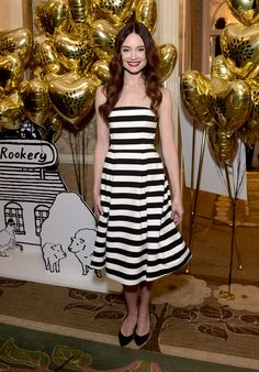 Inside the Hottest Award Season Parties in L.A. - Mallory Jansen attends the BAFTA Los Angeles Tea Party, hosted by Mulberry