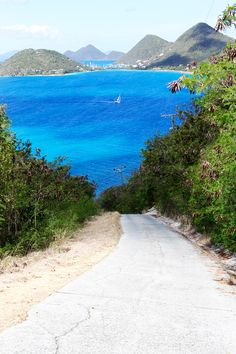 Tortola, British Virgin Islands. There's no lack of adventure here—the island's rugged mountain roads lead to spectacular island views.