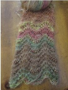 How to Knit with Beads by Fran Ortmeyer