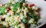 Recept vegetarische quinoa salade met feta en kruiden in 20 minuten op tafel!