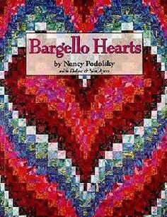 Free Bargello Heart Quilt Pattern | Bargello Hearts