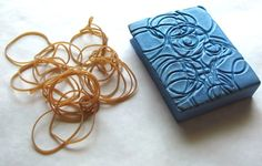 Approachable Art by Judi Hurwitt: Stamp-Making Tutorial. Wonderful, many ideas - some I've never seen.