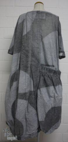 www.modegalerie-bongardt.de - rundholz mode, rundholz black label, rundholz dip Rundholz black label Sommer 2016 balloniges Big-Kleid mit Riesentasche, cool mint-print 3650905-S16