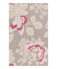 Look at this Pink Butterfly Abigail Rug on #zulily today!