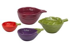 Veggie Measuring Cup Set