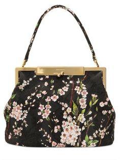 Dolce  amp  Gabbana Sara Brocaded Cotton Bag - Lyst Cotton Bag 2561e56d90d92