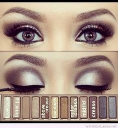 Naked pallet smokey eyes