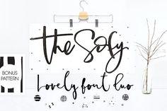 The Sofy Font Duo +Pattern+Freebie - Script