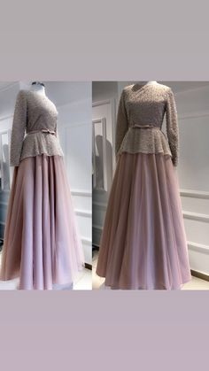 24 Ideas party graduation outfit Source by party Hijab Evening Dress, Hijab Dress Party, Hijab Style Dress, Dress Outfits, Dress Brokat Modern, Kebaya Modern Dress, Kebaya Dress, Muslim Fashion, Modest Fashion