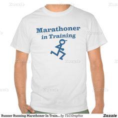 Runner Running Marathoner In Training