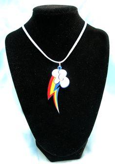My Little Pony Rainbow Dash Acrylic Cutie Mark by MikeVDesigns, $14.00