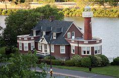 Turtle Rock Lighthouse, Philadelphia, Pa, near Phil. Museum of Art and Boathouse Row.