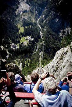 Gelmerbahn funicular,Bern, Switzerland: